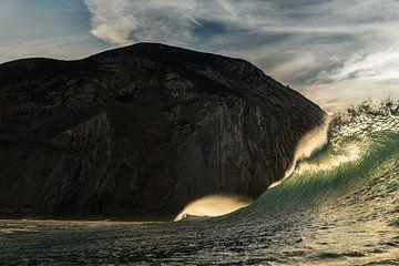 Kleurrijke Ocean Wave kuif vorm. van massimo pardini