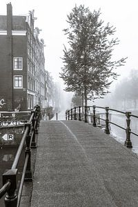 Mist in Amsterdam van