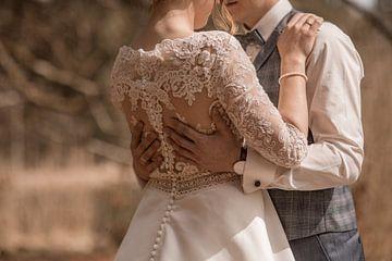 Trouwdag trouwjurk van Tobias Huber