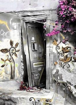 PLAKA DOOR NO2 van Pia Schneider
