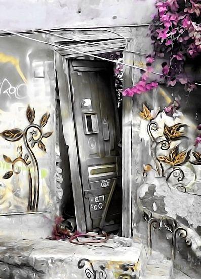 PLAKA DOOR NO2