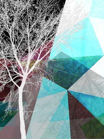 LONELY TREE II van Pia Schneider