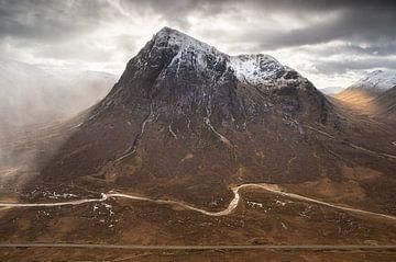 Berg Buachaille etive mòr, Schotland van Bob Slagter