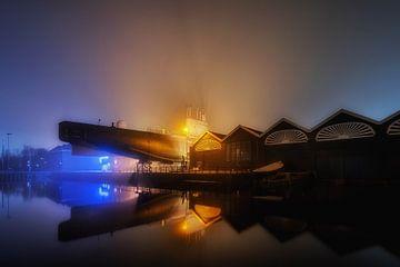 's nachts in Den Helder