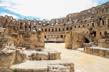 Amfitheater El Djem von Adinda Heeres