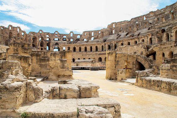 Amfitheater El Djem van Adinda Heeres