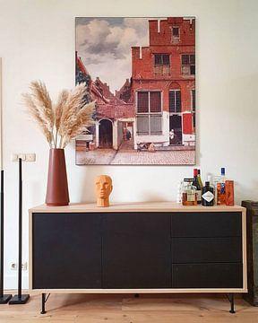 Kundenfoto: Die Straße - Johannes Vermeer