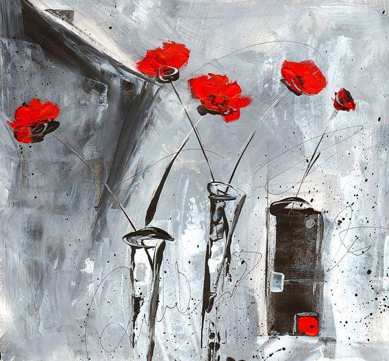 Roter Mohn von Katarina Niksic