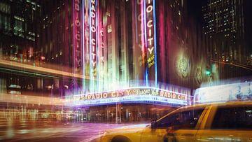 New York Art Radio City Hall van Gerald Emming