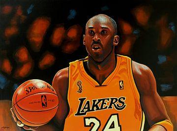 Kobe Bryant painting sur Paul Meijering