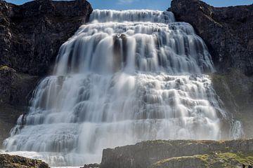 Dynjandi-Wasserfall von Menno Schaefer
