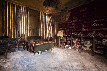 Chambre Abandonnée à Decay. sur Roman Robroek