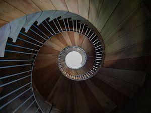 Een trap naar de hemel.