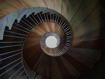 Een trap naar de hemel. van Natascha Worseling