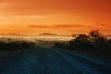 Sonnenaufgang in Sambia von De Afrika Specialist