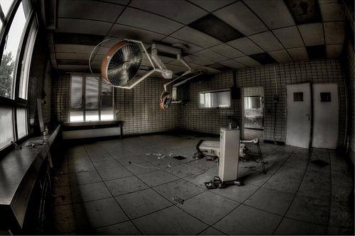 Operatiekamer van het verlaten ziekenhuis