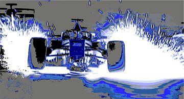 formula 1 van