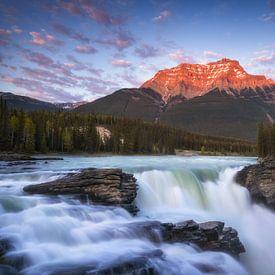 Athabasca Falls Canada van Vincent Fennis