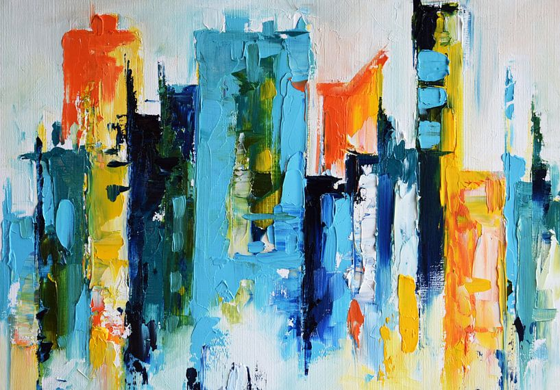 Sunset City 2 van Maria Kitano