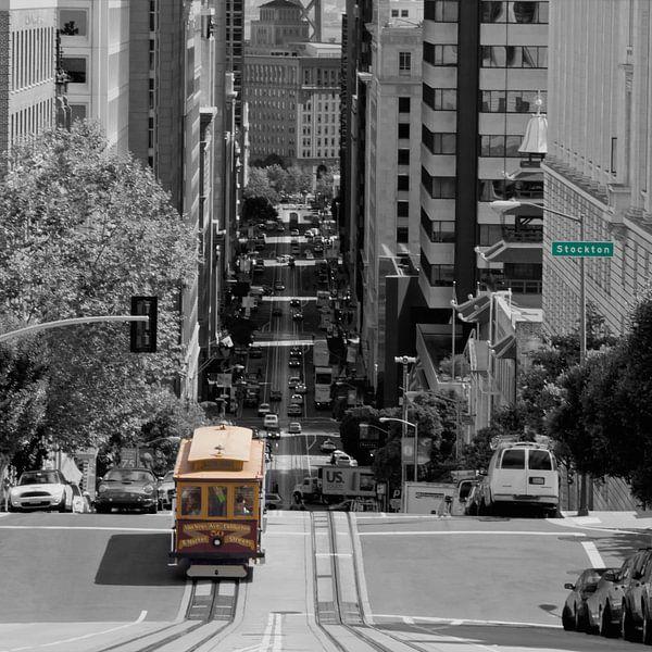 San Francisco Street Scene van Melanie Viola