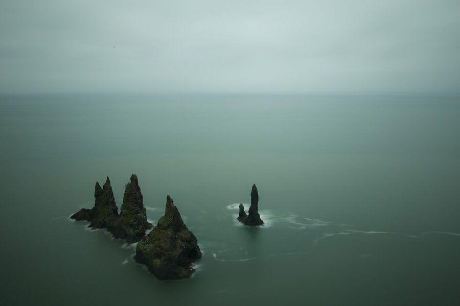 Reynisdrangar bij Vik, IJsland