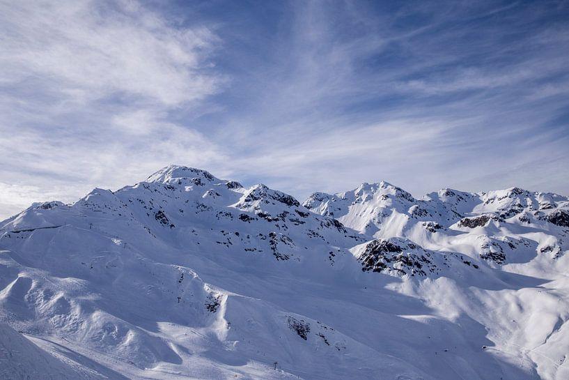 Oostenrijkse Alpen van Sander de Jong