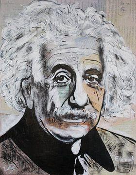 Albert Einstein van Kathleen Artist Fine Art