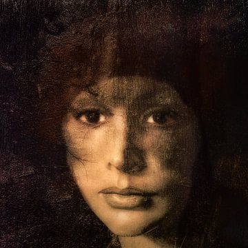 Quadratisches Porträt von Marijke de Leeuw - Gabriëlse