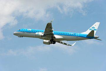 KLM Cityhopper Embraer ERJ-190STD van Wim Stolwerk