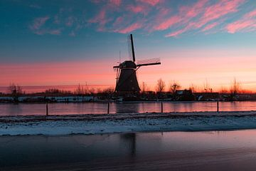 Kinderdijk winter 3