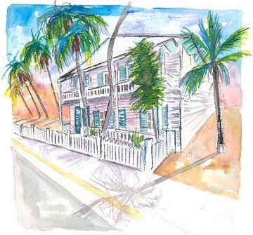 Key West Conch Dream House-Southest Corner Garden Sun sur Markus Bleichner
