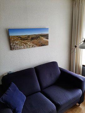 Klantfoto: Panorama Texel duinlandschap / Texel dune landscape van Justin Sinner Pictures ( Fotograaf op Texel)