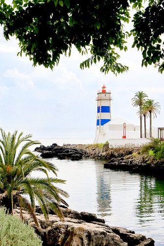 Paradijs eiland met een tropische  en idyllische sfeer