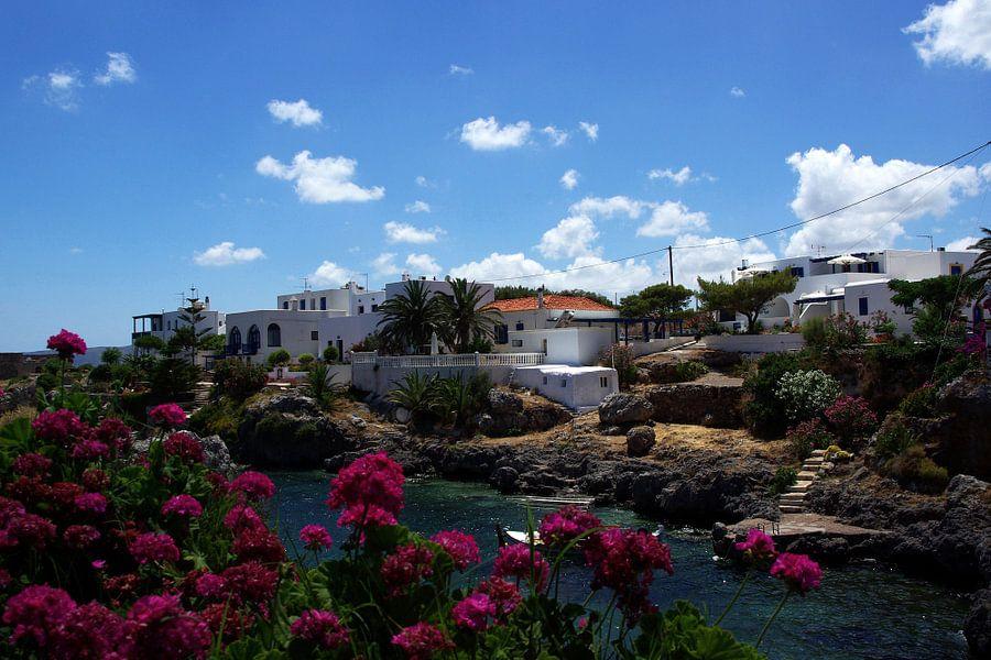 Mediterraans dorpje van Miranda van Hulst