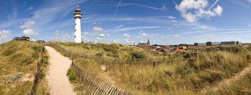 Panorama van Egmond aan Zee van René Weijers