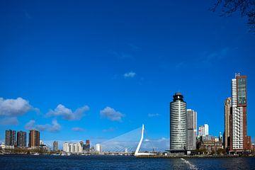 Erasmus-Brücke in Rotterdam von Winfred van den Bor