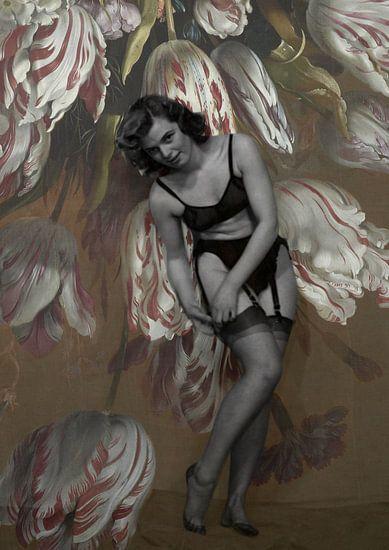 Blooming Muse VI Hans Bollogier van Marit Kout