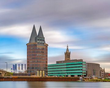 Roermond - Skyline - lange sluitertijd van Teun Ruijters