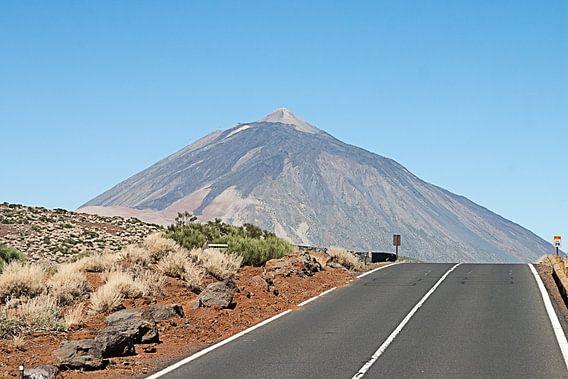 El teide vulkaan op tenerife
