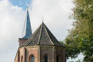 Kerkje van Hoorn op het eiland Terschelling van