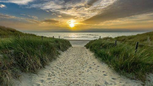 Strandopgang Texel paal 20 von