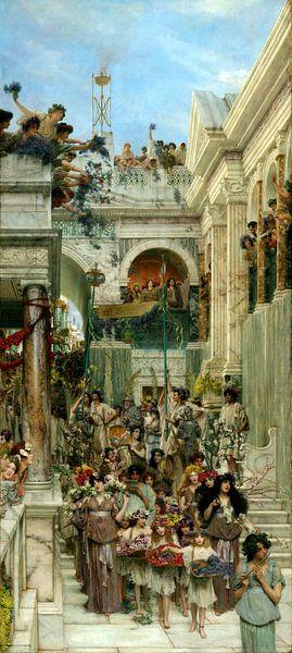Lawrence Alma Tadema. Spring, 1889 van 1000 Schilderijen