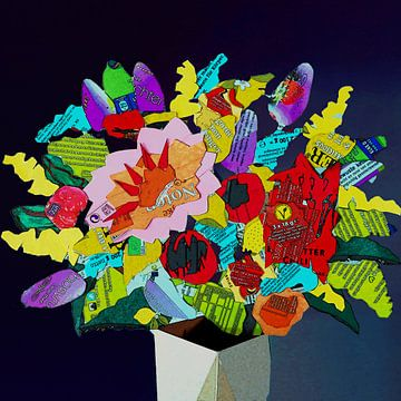 Chipper Sommer Bouquet von Ruud van Koningsbrugge