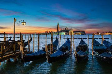 Zonsopgang in Venetië van Michael Abid
