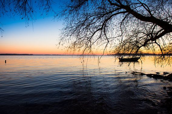 Het bootje langs de dijk van Inge Jansen