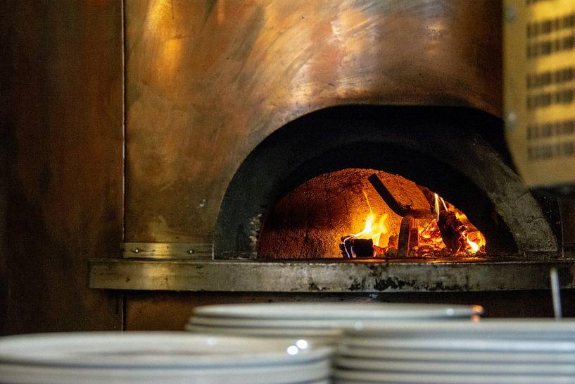 Pizza oven van Ton de Koning