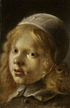 Zelfportret van Rembrandt Harmenszoon van Rijn van Alice Berkien-van Mil