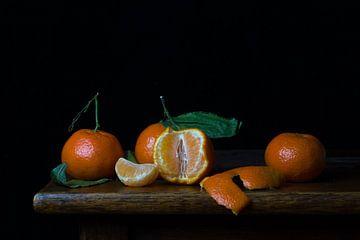 Stilleven met mandarijnen van Emajeur Fotografie