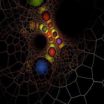 Fraktal von Rosa Fotoart