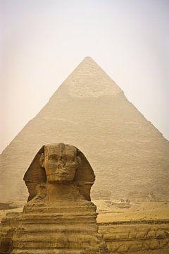Die Sphinx und die Pyramide von Thijs Kupers